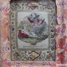 Arte: LIBRERIA GHOTICA. EXCELENTE EXVOTO DEL SIGLO XVIII DEL AGNUS DEI. PLATA Y FILIGRANA DE TEJIDOS. Lote 119505723