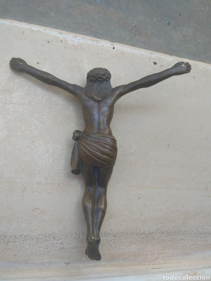 Arte: Antiguo Cristo de Bronce - Foto 7 - 119628188