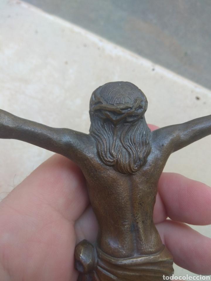 Arte: Antiguo Cristo de Bronce - Foto 8 - 119628188