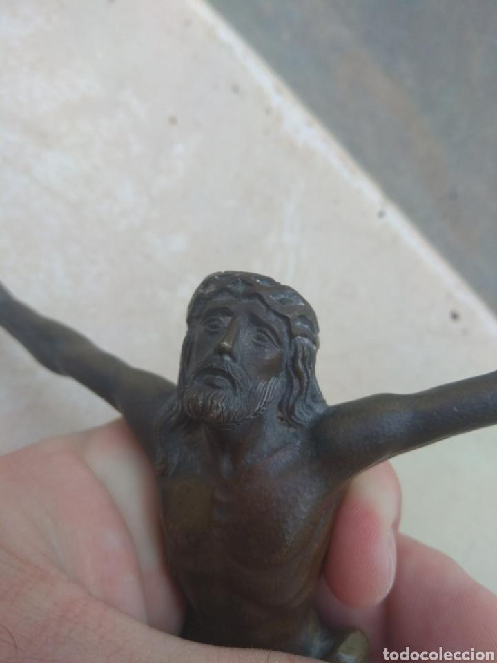 Arte: Antiguo Cristo de Bronce - Foto 12 - 119628188