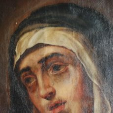 Arte: PINTURA ANTIGUA DOLOROSA S.XVIII. Lote 120098935