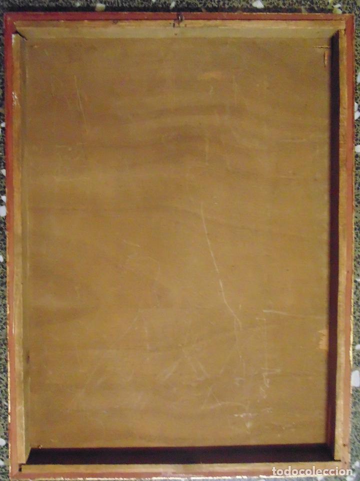 cuadro antigua de litografia sobre tabla de - v - Comprar ...