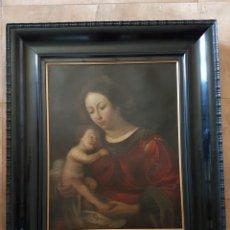 Arte: VIRGEN CON NIÑO. S. XVII. Lote 120205274