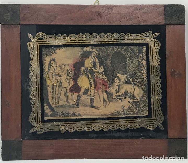 Arte: LITOGRAFÍAS ANTIGUAS DE LA FABRICA ESTAMPAS SANTA MARIA MALAGA-SXIX - Foto 2 - 120226919