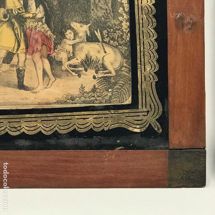 Arte: LITOGRAFÍAS ANTIGUAS DE LA FABRICA ESTAMPAS SANTA MARIA MALAGA-SXIX - Foto 8 - 120226919