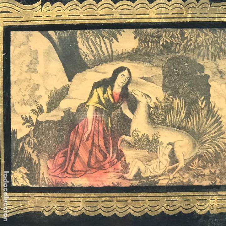 Arte: LITOGRAFÍAS ANTIGUAS DE LA FABRICA ESTAMPAS SANTA MARIA MALAGA-SXIX - Foto 12 - 120226919