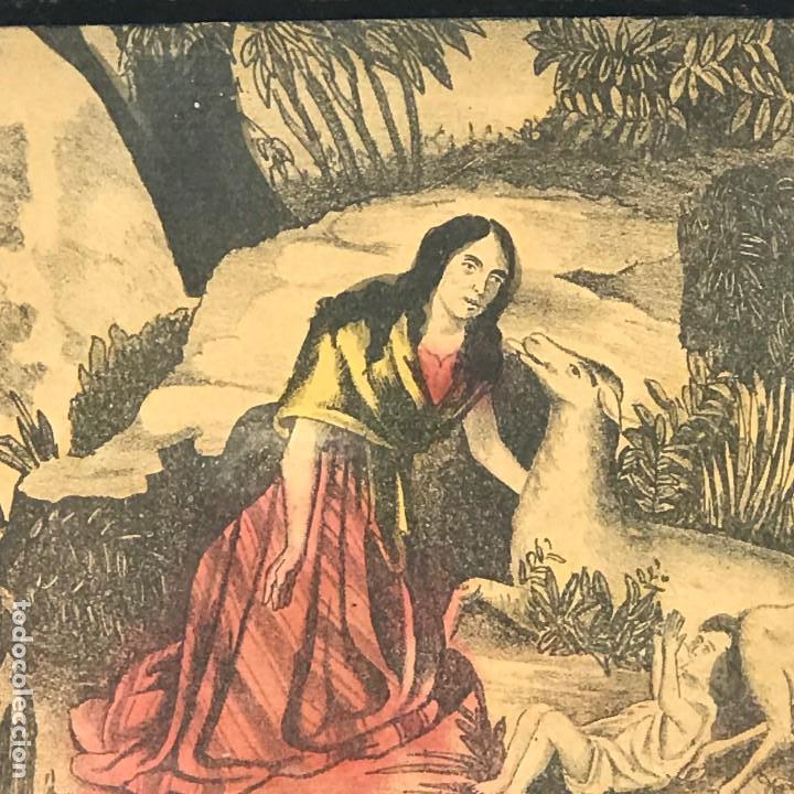 Arte: LITOGRAFÍAS ANTIGUAS DE LA FABRICA ESTAMPAS SANTA MARIA MALAGA-SXIX - Foto 13 - 120226919