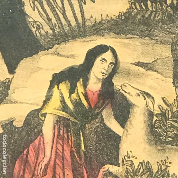 Arte: LITOGRAFÍAS ANTIGUAS DE LA FABRICA ESTAMPAS SANTA MARIA MALAGA-SXIX - Foto 18 - 120226919