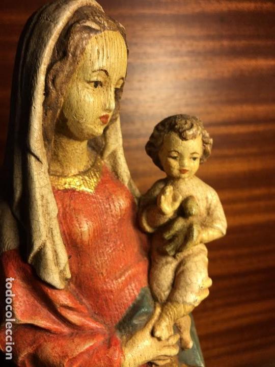 Arte: virgen madera - Foto 5 - 120732051