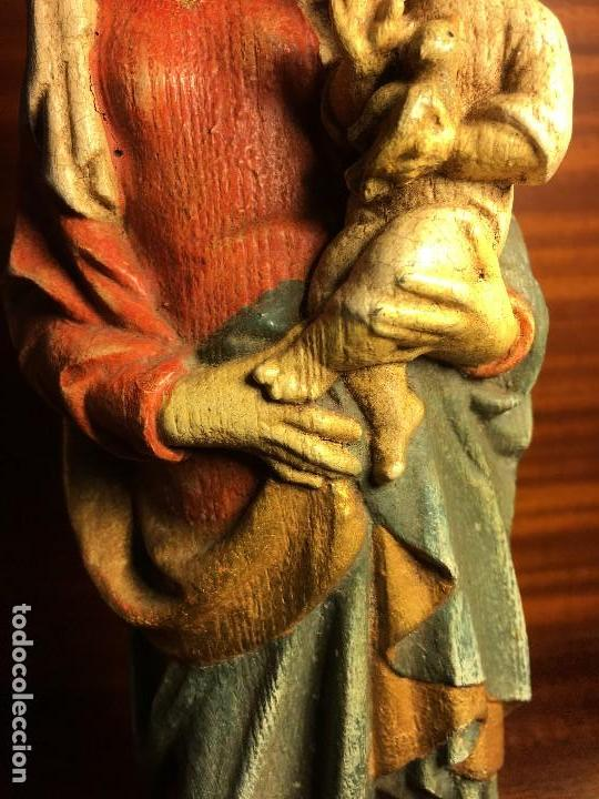 Arte: virgen madera - Foto 7 - 120732051