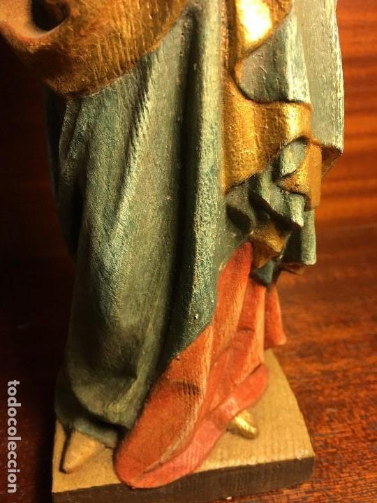 Arte: virgen madera - Foto 8 - 120732051