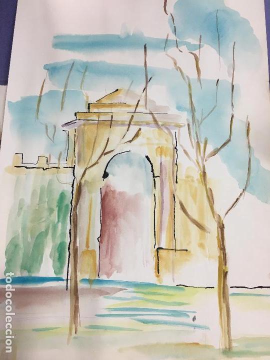 PINTURA ACUARELA - MEDIDA 42X30 CM (Arte - Arte Religioso - Pintura Religiosa - Oleo)