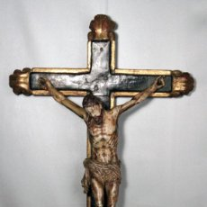 Arte: CRUCIFIJO ESPAÑOL DEL SIGLO XVIII.. Lote 120959759