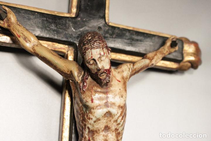 Arte: Crucifijo español del siglo XVIII. - Foto 2 - 120959759