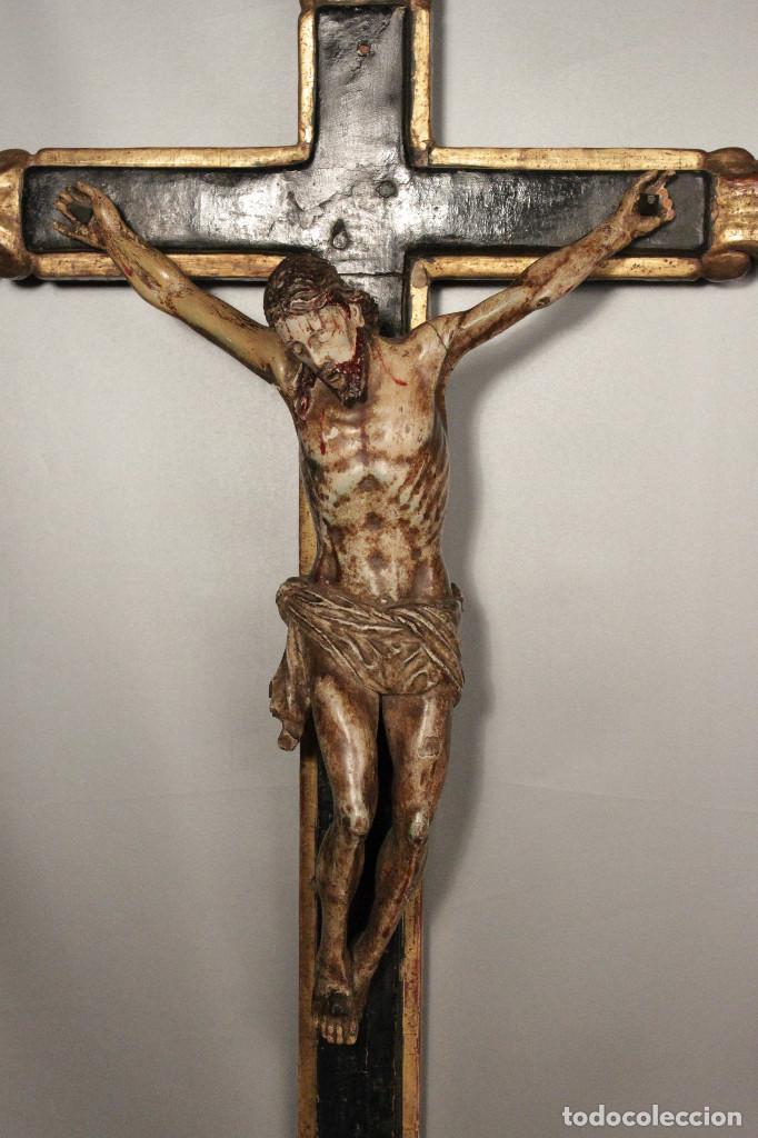 Arte: Crucifijo español del siglo XVIII. - Foto 3 - 120959759