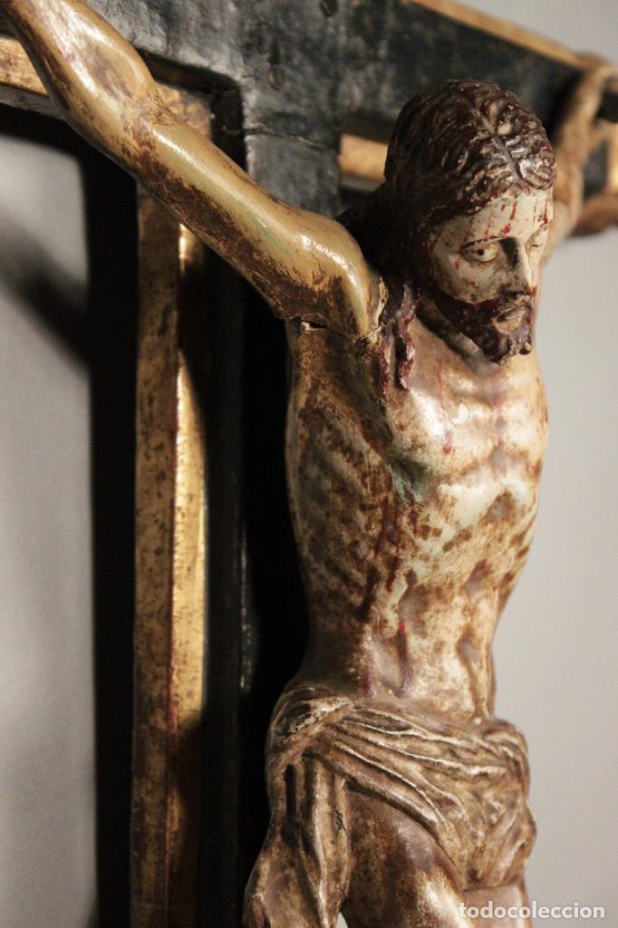 Arte: Crucifijo español del siglo XVIII. - Foto 6 - 120959759