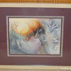 Arte: ANTHONY BAYNES (1921-2003) - NEOROMANTICISMO BRITÁNICO / SIMBOLISMO RELIGIOSO. Lote 54361333