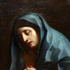 Arte: ATRIBUIDO A ANTONI VILADOMAT (BARCELONA, 1678 - 1755) OLEO SOBRE TELA. VIRGEN DE LOS DOLORES. Lote 121136223