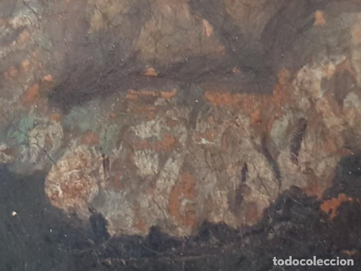 Arte: Óleo sobre cobre siglo XVII. Personaje de El Entierro del Conde de Orgaz. - Foto 11 - 121295255