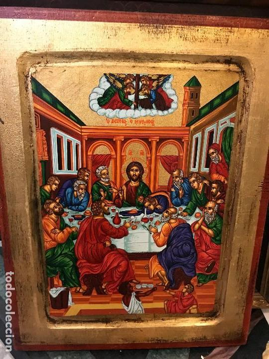 ICONO DE LOS APOSTOLES, PINTADO A MANO (Arte - Arte Religioso - Iconos)