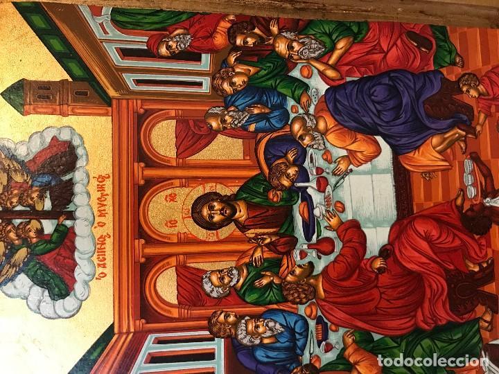 Arte: icono de los apostoles, pintado a mano - Foto 2 - 121448747