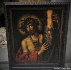 Arte: EXCEPCIONAL ECCE HOMO, ANTONIO DE PEREDA, S. XVII. Lote 121451315