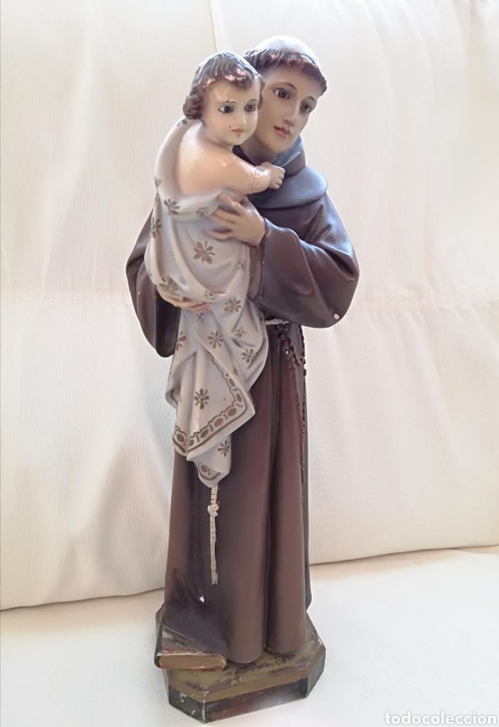 Arte: Escultura de San Antonio. - Foto 5 - 121631308