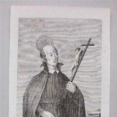 Arte: ANTIGUO GRABADO DEL BEATO SEBASTIÁN VALFRÉ. PRESBÍTERO DE LA CONGREGACIÓN DEL ORATORIO (SIGLO XIX). Lote 121785395