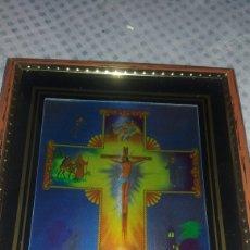 Arte: CUADRO DE CRISTO CRUCIFICADO. Lote 122191911