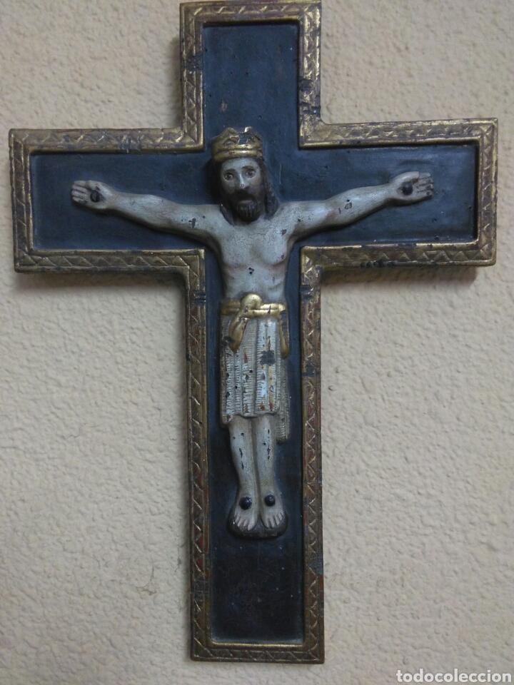 CRISTO MADERA (Arte - Arte Religioso - Escultura)