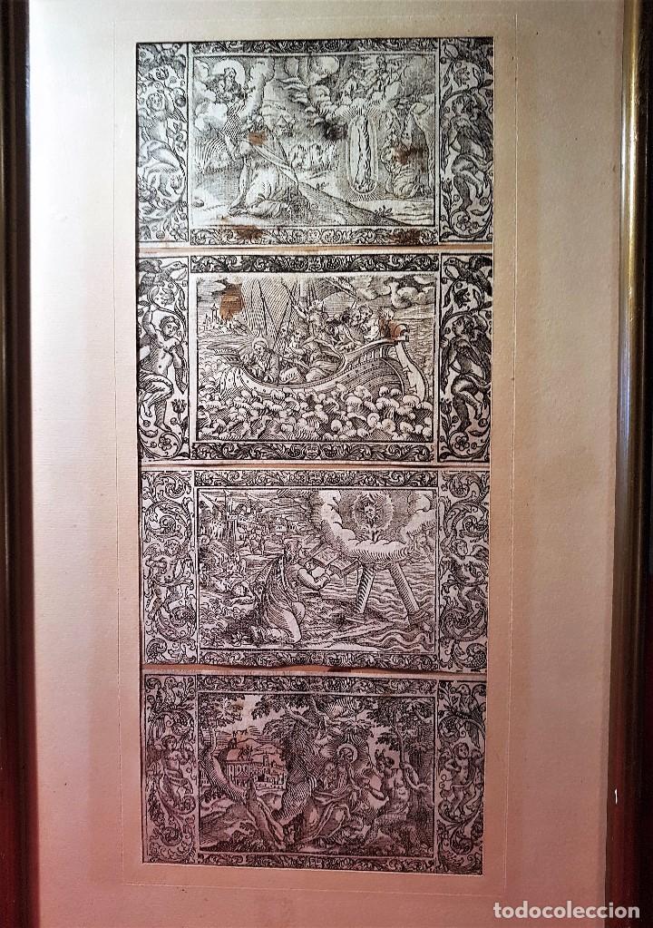 8 grabados alemanes del siglo xvi, medidas 7 x - Comprar Grabados ...
