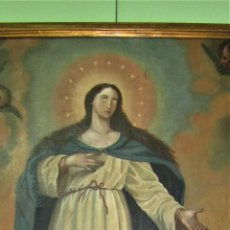 Arte: MARAVILLOSA PINTURA AL OLEO SIGLO XVIII. Lote 123236687