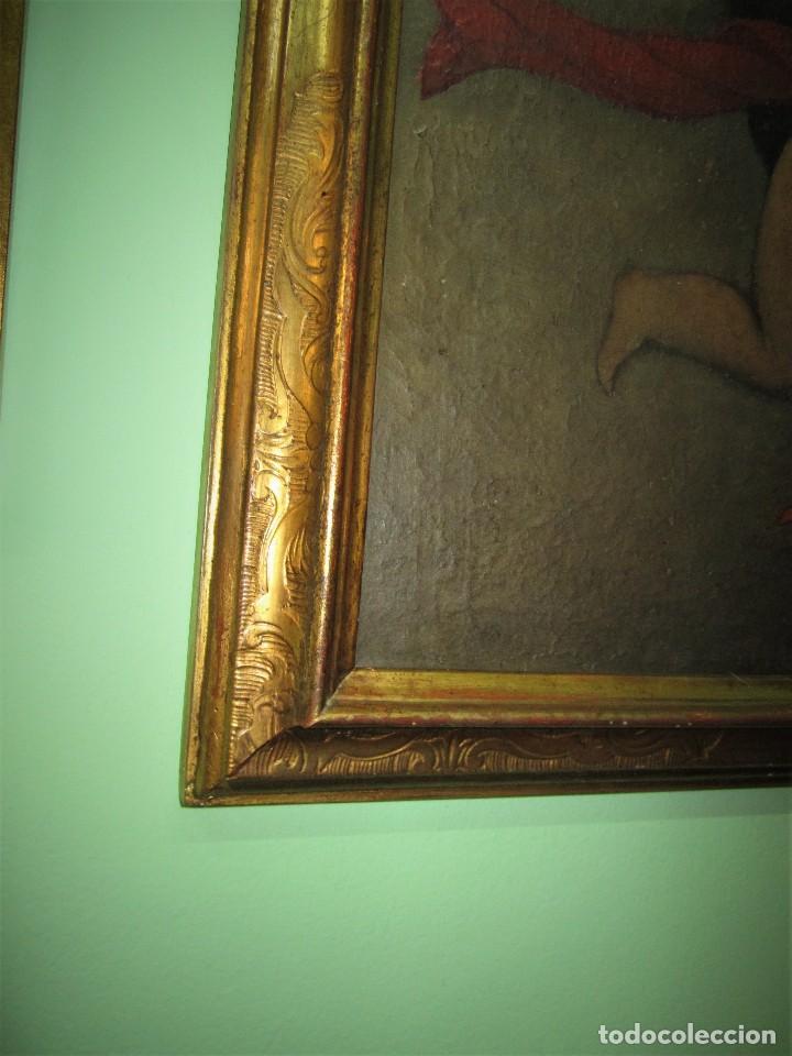 Arte: MARAVILLOSA PINTURA AL OLEO SIGLO XVIII - Foto 5 - 123236687