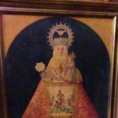 Arte: VIRGEN DE COVADONGA, SALVADME Y SALVAD A ESPAÑA. Lote 123333171