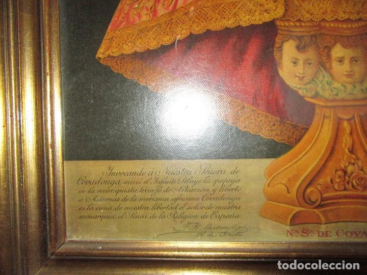 Arte: VIRGEN DE COVADONGA, SALVADME Y SALVAD A ESPAÑA - Foto 2 - 123333171