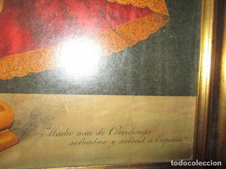 Arte: VIRGEN DE COVADONGA, SALVADME Y SALVAD A ESPAÑA - Foto 3 - 123333171