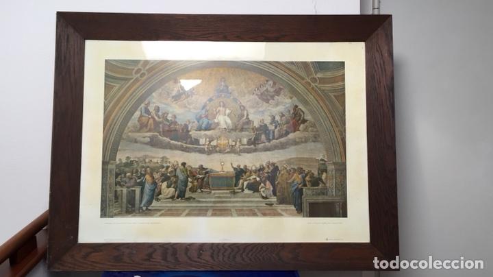 foto/litografía de la disputa del sacramento mu - Comprar ...