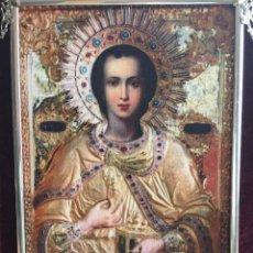 Arte: ICONO RELIGIOSO DE ESTILO ORIENTAL. Lote 124257211