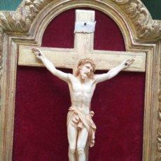 Arte: BONITO CRISTO DE MARFIL. Lote 124400831