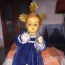 Arte: NIÑO JESUS NAZARENO RARO REALIZADO EN CARTON PIEDRA. Lote 124474398