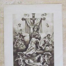 Arte: MUY ANTIGUA LÁMINA DE LA VIRGEN DE LA CARIDAD DE CARTAGENA.. Lote 124482815