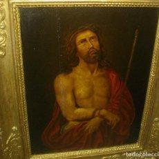 Arte: (((BOMBAZO))) OLEO SOBRE TABLA DE NOGAL ((( BARROCO ESPAÑOL ))) SIN ACREDITACION. Lote 124624903