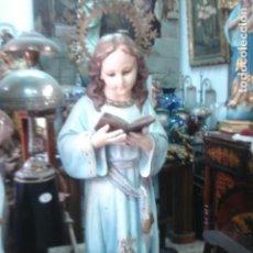 Arte - Extraordinaria Virgen Niña del Renacimiento de Olot - 125587571