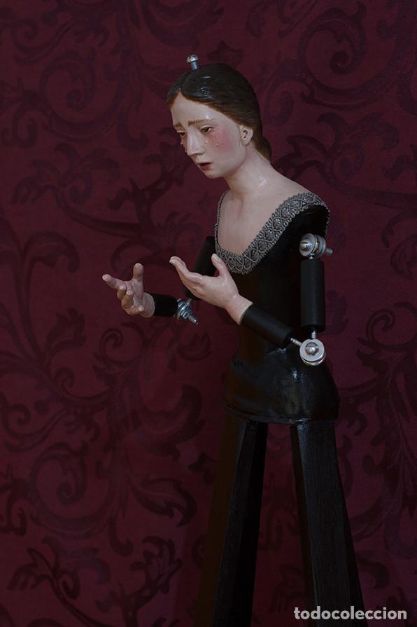 Arte: Virgen Dolorosa de candelero de 55 ctm sin vestir - Foto 5 - 125962011