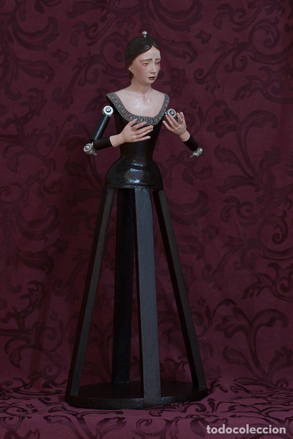 Arte: Virgen Dolorosa de candelero de 55 ctm sin vestir - Foto 7 - 125962011