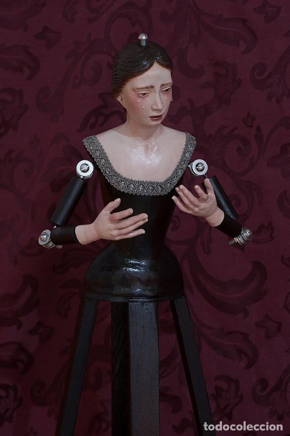 Arte: Virgen Dolorosa de candelero de 55 ctm sin vestir - Foto 8 - 125962011