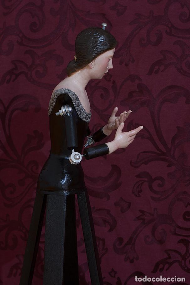 Arte: Virgen Dolorosa de candelero de 55 ctm sin vestir - Foto 9 - 125962011