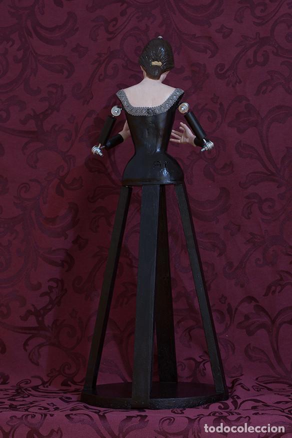 Arte: Virgen Dolorosa de candelero de 55 ctm sin vestir - Foto 10 - 125962011