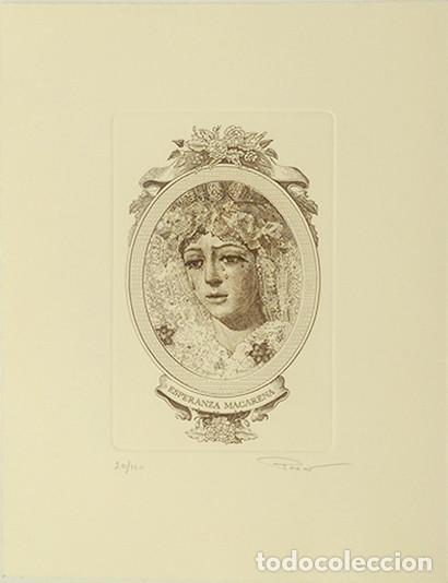 GRABADO MACARENA (Arte - Arte Religioso - Grabados)