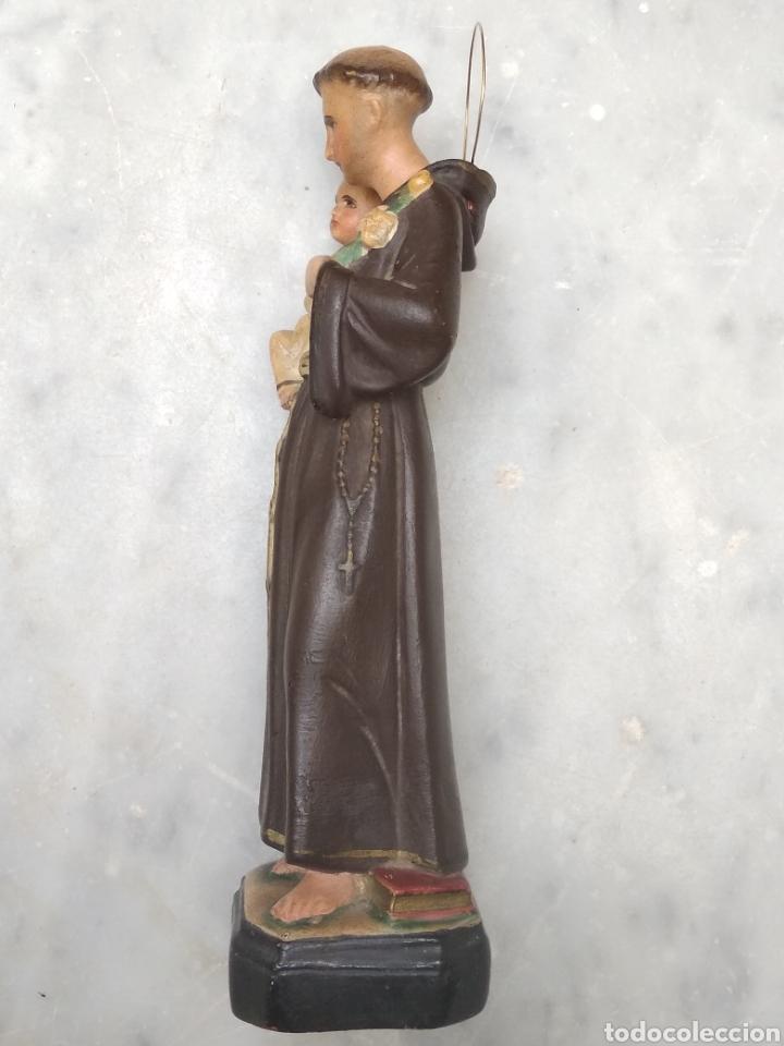 Arte: San Antonio 26 cm tipo Olot - Foto 4 - 126937398